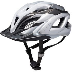 KED Neo Visor Helmet white silver anthracite